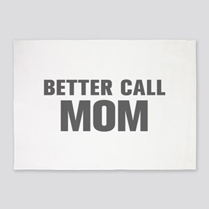 BETTER CALL Mom-Akz gray 500 5'x7'Area Rug