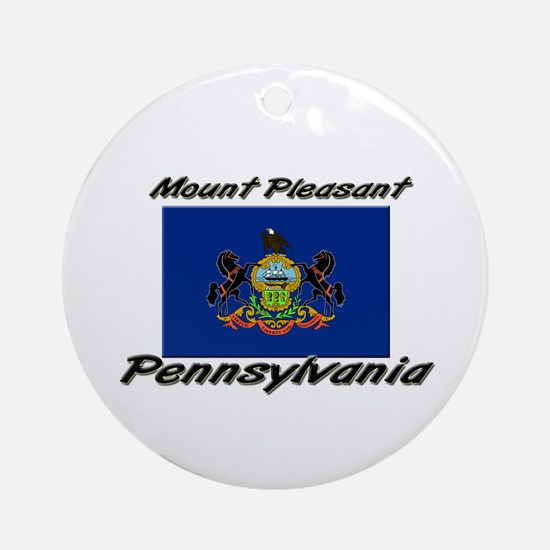Mount Pleasant Pennsylvania Ornament (Round)