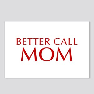 BETTER CALL Mom-Opt red2 550 Postcards (Package of