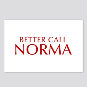BETTER CALL NORMA-Opt red2 550 Postcards (Package