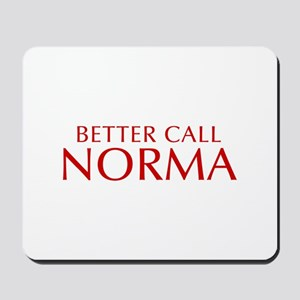 BETTER CALL NORMA-Opt red2 550 Mousepad