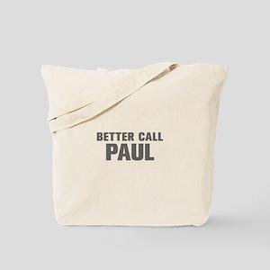 BETTER CALL PAUL-Akz gray 500 Tote Bag