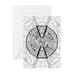 Celtic Dragons Greeting Card