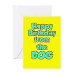 Enjoy Squeaky Toy Birthday Card