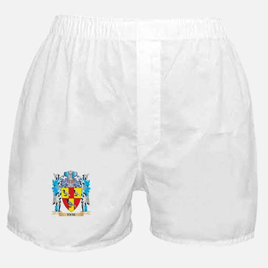 Tate Coat of Arms - Family Crest Boxer Shorts