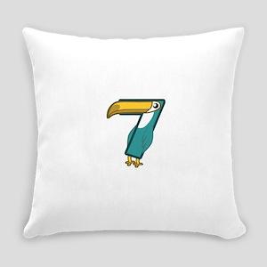 3+4=7 Everyday Pillow
