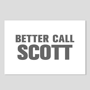BETTER CALL SCOTT-Akz gray 500 Postcards (Package