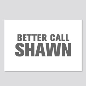 BETTER CALL SHAWN-Akz gray 500 Postcards (Package