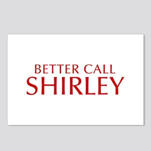 BETTER CALL SHIRLEY-Opt red2 550 Postcards (Packag