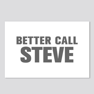 BETTER CALL STEVE-Akz gray 500 Postcards (Package