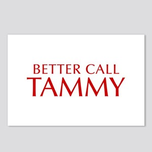 BETTER CALL TAMMY-Opt red2 550 Postcards (Package