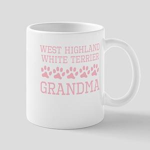 West Highland White Terrier Grandma Mugs