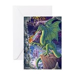 Dragon's Lair Greeting Card