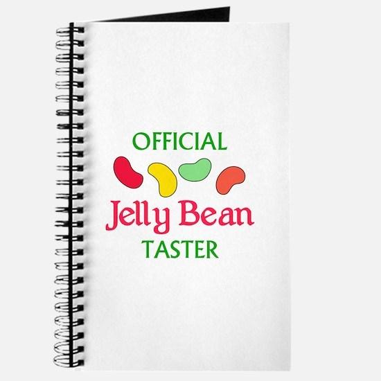 OFFICIAL JELLY BEAN TASTER Journal