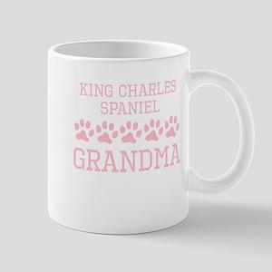 King Charles Spaniel Grandma Mugs
