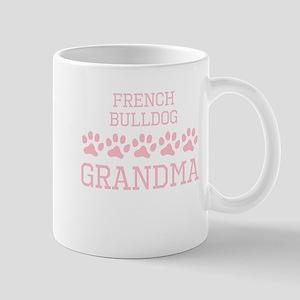 French Bulldog Grandma Mugs