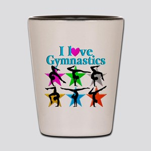 SUPER STAR GYMNAST Shot Glass