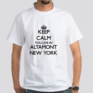 Keep calm you live in Altamont New York T-Shirt