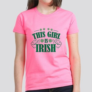 This Girl Is Irish Women's Dark T-Shirt