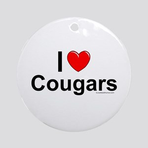Cougars Ornament (Round)