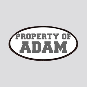 PROPERTY OF ADAM-Fre gray 600 Patch