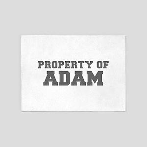 PROPERTY OF ADAM-Fre gray 600 5'x7'Area Rug