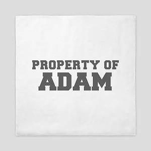 PROPERTY OF ADAM-Fre gray 600 Queen Duvet