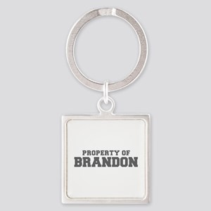 PROPERTY OF BRANDON-Fre gray 600 Keychains