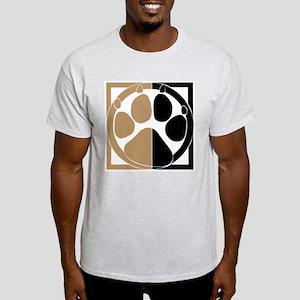 Tan Paw Print Light T-Shirt