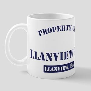 Property of Llanvie... Mugs
