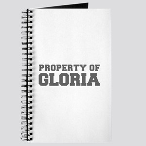 PROPERTY OF GLORIA-Fre gray 600 Journal