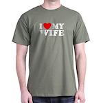 I Love My Wife Dark T-Shirt