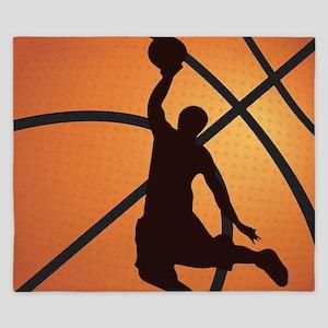 Basketball dunk King Duvet
