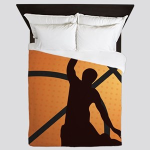 Basketball dunk Queen Duvet