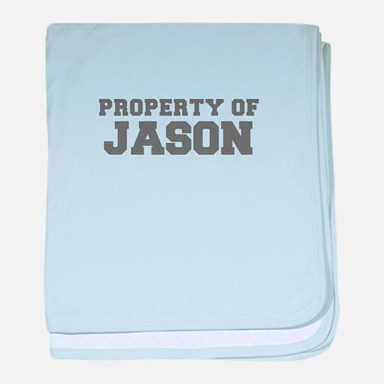 PROPERTY OF JASON-Fre gray 600 baby blanket