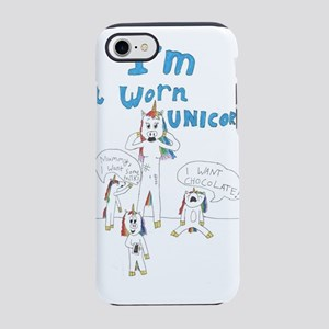 Worn Unicorn iPhone 7 Tough Case