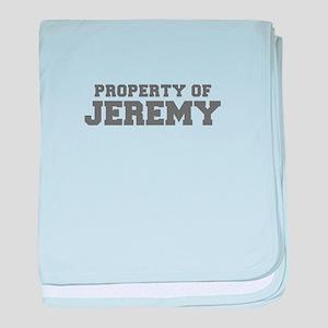 PROPERTY OF JEREMY-Fre gray 600 baby blanket