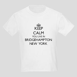 Keep calm you live in Bridgehampton New Yo T-Shirt