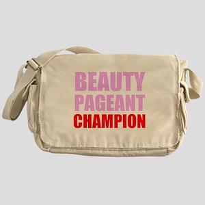 Beauty Pageant Champion Messenger Bag