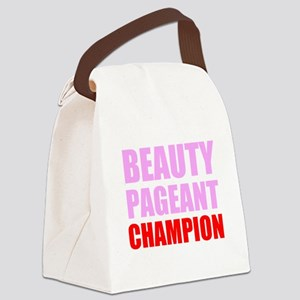 Beauty Pageant Champion Canvas Lunch Bag