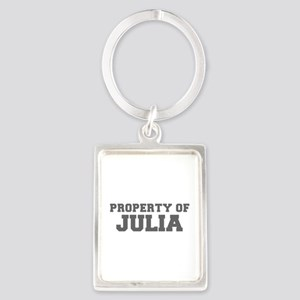 PROPERTY OF JULIA-Fre gray 600 Keychains