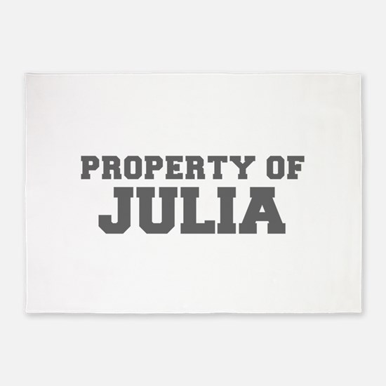 PROPERTY OF JULIA-Fre gray 600 5'x7'Area Rug