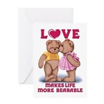 Teddy Love Greeting Card