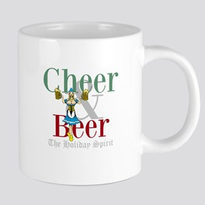 Cheer Beer Holiday Spirit Mugs