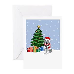 Australian shepherd christmas greeting cards cafepress m4hsunfo