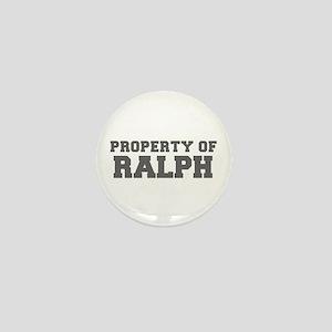 PROPERTY OF RALPH-Fre gray 600 Mini Button