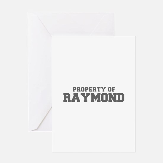 PROPERTY OF RAYMOND-Fre gray 600 Greeting Cards