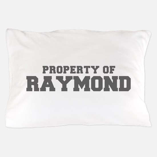 PROPERTY OF RAYMOND-Fre gray 600 Pillow Case