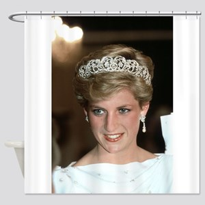 Stunning! HRH Princess Diana Shower Curtain