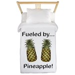 Fueled by Pineapple Twin Duvet